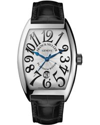Franck Muller - Men's Automatic Curvex Watch With Alligator Strap - Lyst