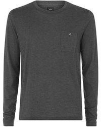 Boss Black Tesar Cashmere-blend T-shirt - Lyst