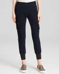James Jeans - Boyfriend Slouchy Fit Cargo In Academy Navy - Lyst