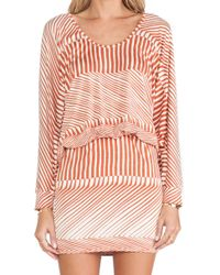 Rachel Pally Orange Sable Dress - Lyst