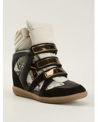 Etoile Isabel Marant Bekett Hitop Sneakers - Lyst