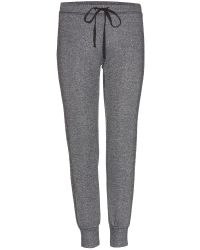 Velvet By Graham & Spencer Annie Jersey Track Pants - Lyst