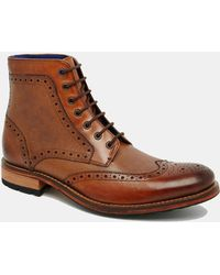 Ted Baker Sealls Brogue Boots - Lyst
