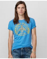 Denim & Supply Ralph Lauren Eagle-print Cotton T-shirt - Lyst