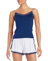 Joe's Jeans - Lace-trimmed Camisole - Lyst