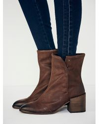 Free People Warddell Ankle Boot - Lyst