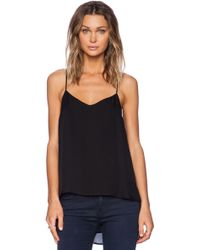 Theory Vaneese Silk Top - Lyst