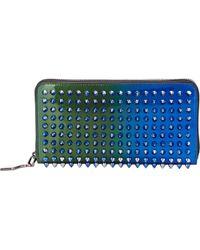 Christian Louboutin Panettone Wallet blue - Lyst