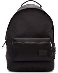 Kris Van Assche Black Nylon Backpack - Lyst