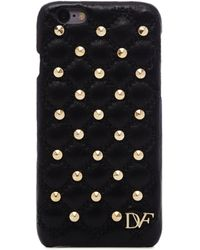 Diane von Furstenberg   Iphone 6 Studded Quilted Leather Case   Lyst