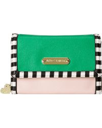 Betsey Johnson Mad About Mod Wallet On A String multicolor - Lyst