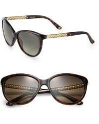 Gucci Cat'S-Eye 57Mm Sunglasses - Lyst