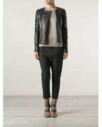 Day Birger Et Mikkelsen Nomad Leather Jacket - Lyst
