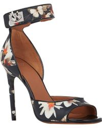 Givenchy Sharktooth Ankle-Strap Sandals - Lyst