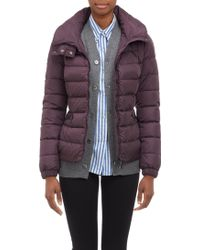 Moncler Channelquilted Hooded Puffer Jacket - Lyst