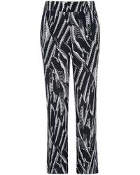 Minuet Petite - Palm Print Trousers - Lyst