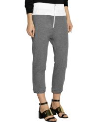 Marni - Cotton-terry Track Trousers - Lyst