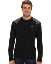 The North Face Ls Paramount Tech Tee - Lyst
