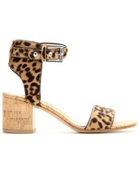 Gianvito Rossi Mytheresa.Com Exclusive Pony Hair Sandals - Lyst