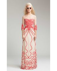 Temperley London Long Ezra Dress - Lyst