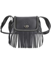 Coach Whipstitch Dakotah Fringe Flap Bag - Lyst