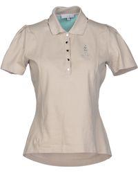 Celine Gray Polo Shirt - Lyst