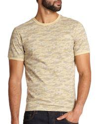 Barbour Wave-Print Cotton T-Shirt - Lyst