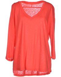 Lily Aldridge For Velvet - T-shirt - Lyst