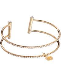 Kurt Geiger - Belle Multi Fine Cuff Bracelet - Lyst