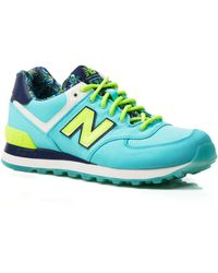 New Balance Lace Up Sneakers - Wl574 - Lyst