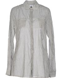 Replay White Shirt - Lyst