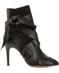 Isabel Marant Strappy Boots - Lyst