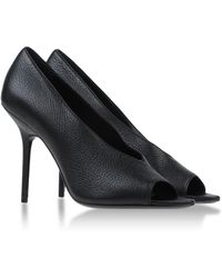 Burberry London Pumps With Open Toe - Lyst