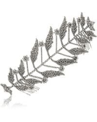 Erickson Beamon - Ballroom Dancing Rhodiumplated Swarovski Crystal Hair Slide - Lyst