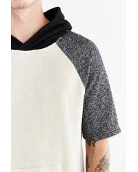 BDG - Colorblock Short-sleeve Pullover Hoodie Sweatshirt - Lyst
