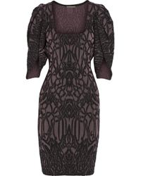 Zac Posen Matelassã Stretchknit Dress - Lyst