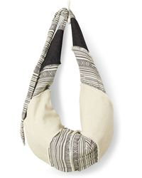 TOMS - Natural Mixed Fabric Seaside Hobo - Lyst