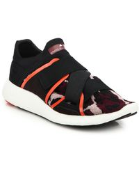 Adidas By Stella McCartney Pure Boost Sneakers black - Lyst