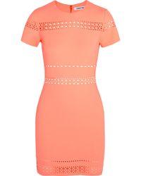 Elizabeth And James Ari Cutout Stretch-Jersey Mini Dress - Lyst