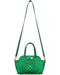 Betsey Johnson Open Heart Small Satchel - Lyst