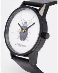 Unknown - Beetle Printed Watch - Lyst