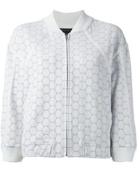 Marc By Marc Jacobs Dotty Ponte Bomber Jacket - Lyst