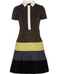 M Missoni Woolblend Felt Dress - Lyst