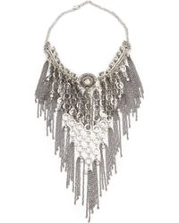 Laura Cantu - Dangling Chain Necklace - Lyst
