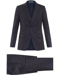 Dolce & Gabbana Three-Piece Wool Suit - Lyst
