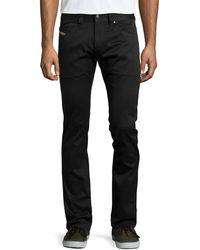 Diesel Denim Straight-leg Trousers - Lyst