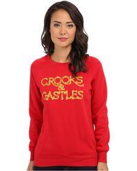 Crooks and Castles - Knit Crew Sweatshirt  - Lyst
