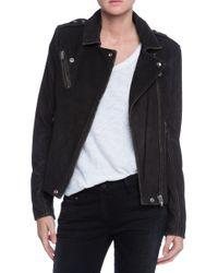 IRO Jay Moto Leather Jacket - Lyst
