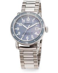 Shinola Runwell Sport Stainless Steel Topring Bracelet Watch - Lyst