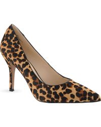 Nine West Flax5 Leopard Print Courts - Lyst